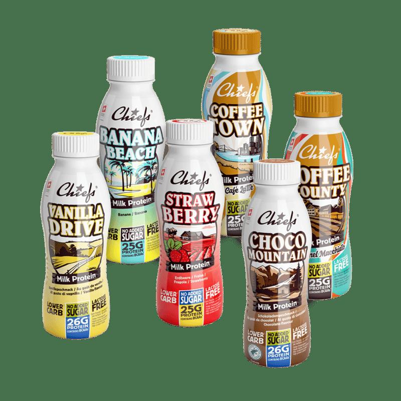 Tasting Package Milk Protein Drinks